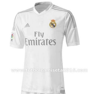 Camiseta del real madrid 2016
