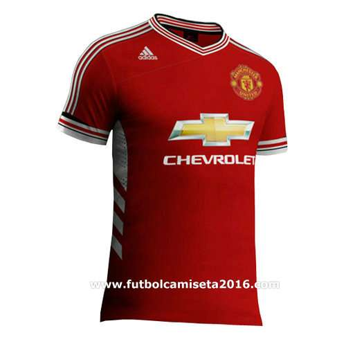 Camiseta del manchester united primera equipación 2015-2016