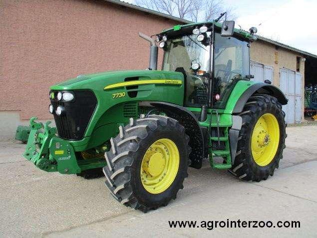 Tractor john deere 7730 lc