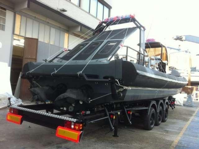Remolque náutico de aluminio para barcos grandes, thalman