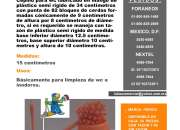 CEPILLO PARA WC CON Y SIN BASE MARCA PERICO  Cepillo para wc fabricado en mango de plástic