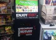 Atraiga clientela ofreciendo Recargas, Loterías online, liberación de móviles...