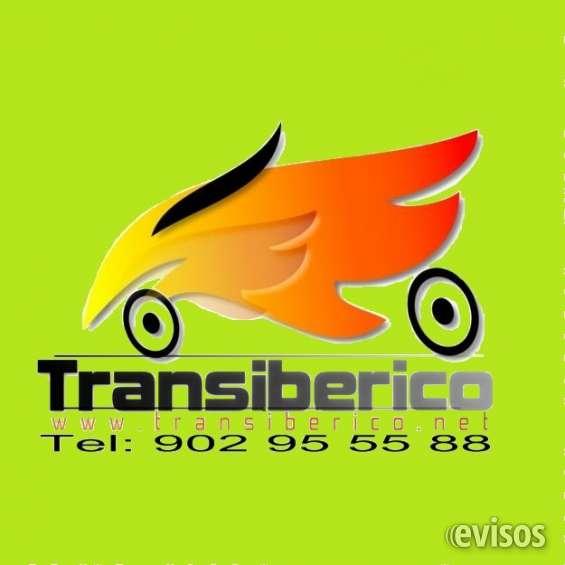 Transporte de motos transiberico