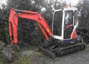Mini 2.5 toneladas ocasión kubota u25.3
