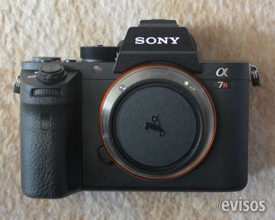 Sony a7rii, mark ii, cuerpo de la cámara