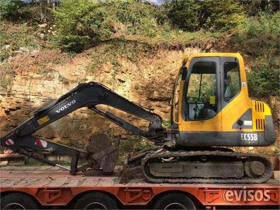 Tractor volvo ec55b mini