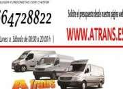 Servicios de mudanza, transportes, envios