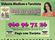 Vidente blanca 960967126  consulta tarot completa…