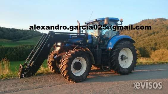 Tractor new holland t7040ac 2012