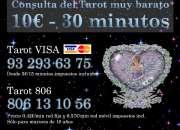 Tarot visa 5€ por 15 minutos