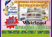 Whirlpool- servicios técnicos a domicilio  ((7992…
