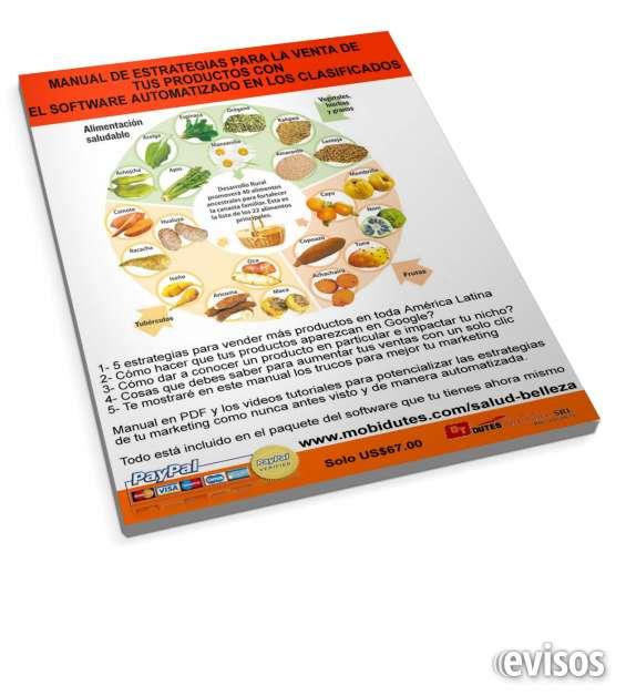 Maravilloso software para promocionar tus productos bajar de peso con un solo clic