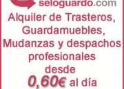 Alquiler de trasteros baratos desde 20€ al mes