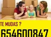 Camion 18m3+mozos 85€ mudanzas baratas en san blas
