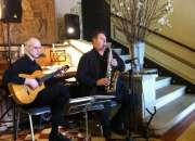 Saxo-clarinete y guitarra para bodas y eventos