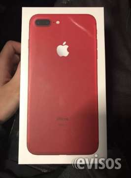Iphone 7 plus 128gb rojo
