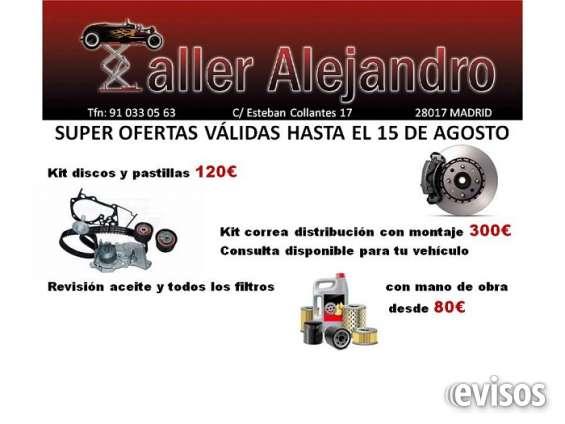 Super oferta de verano para distribución, discos y pastillas, aceite y filtros