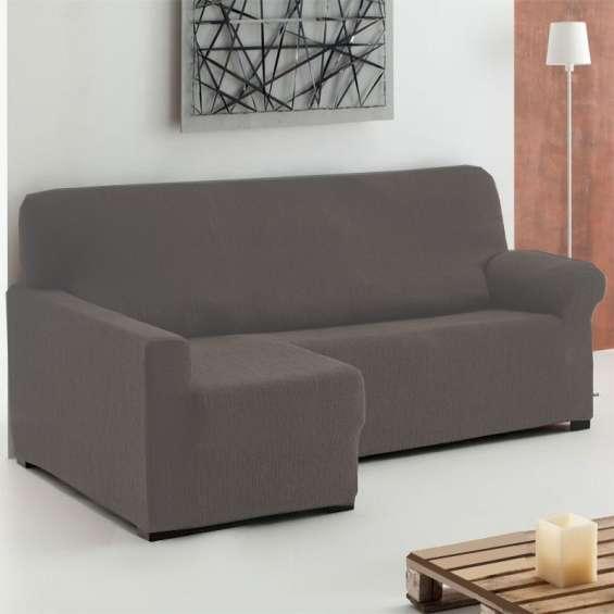 Fundas para sofás chaise longue elásticas