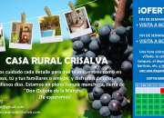 Casa rural crisalva, turismo rural de calidad en …
