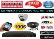 Camaras video vigilancia kit completo
