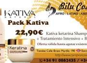 Pack kativa keratina por sólo 22,90€