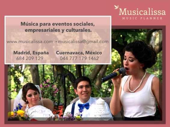 Música para bodas y todo tipo de eventos