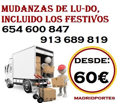 Mudanzas(ofertas 91.36898.19 a particulares y empresas