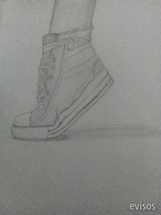 Realizo dibujos a lápiz