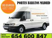 MOVING LOW COST(91)3689-819 PORTES EN LA LATINA-RETIRO