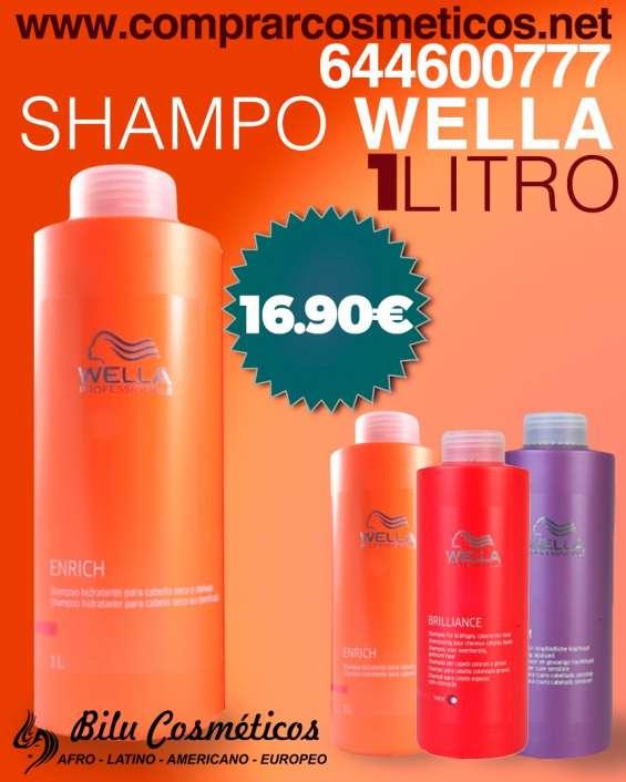¡llegó el shampo wella!
