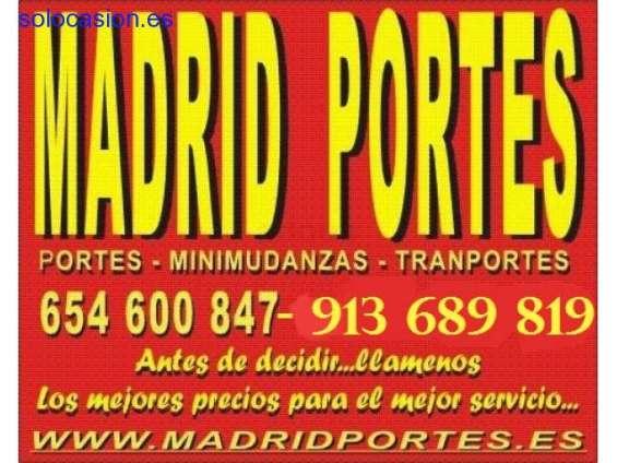 Consulte mudanzas baratas 65#4600847 portes en madrid