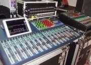 Digitales mezcladores y equipos de audio