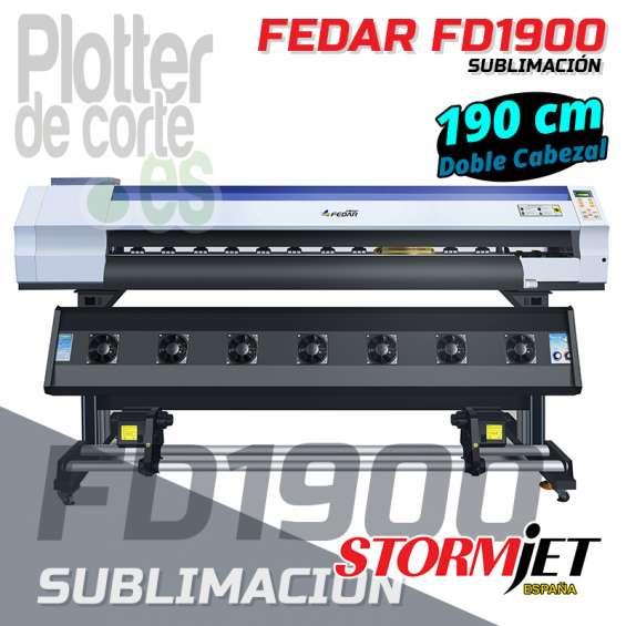 Impresora de sublimacion stormjet fedar 1900 2 cabezales epson