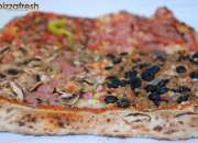 Bases de pizza para porciones