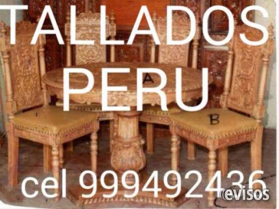 Tallador ebanista carpinteria en madera colonial peruano en Madrid ...
