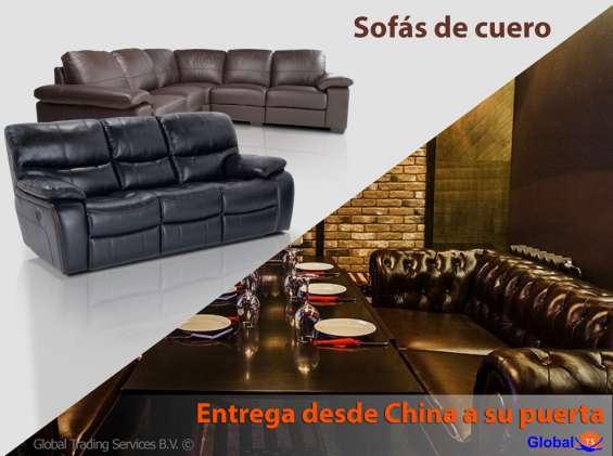 Amplia gama de sofás de cuero