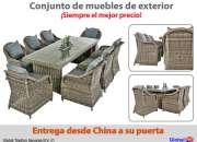 Modernos y cómodos muebles para el uso exterior