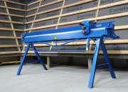 Plegadora manual para aluminio de 2 metros, dobla…