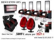 Muebles comerciales de peluquería!