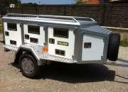 Remolque de aluminio térmico  para perros,thalman…