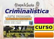 Criminalística, investigación penal, cursos inscr…