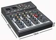 Mezclador mesa de mezclas profesional de 4 canales