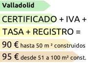 Certificado energético en valladolid para viviend…