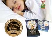Moneda medalla ratoncito perez