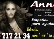 Anna sensibilidad femenina tarot y videncia. Visa o Paypal
