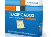 Se ofrece portal web de anuncios clasificados totalmente operativo