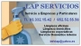LAP SERVICIOS: MANTENIMIENTOS Y LIMPIEZA DOMICILIOS