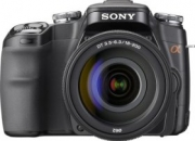 Sony alpha a100h 10.2mp digital slr camera kit with 18-200mm f3.5-6.3 lens