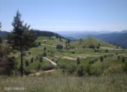 Parcela. estación de esquí de bulgaria.