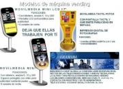 Máquinas vending para tu negocio hasta con revelado de fotos infórmate!!!!